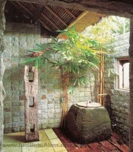contoh pemasangan batu hijau sukabumi rts untuk dinding