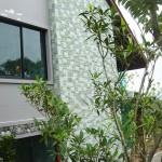 contoh pemasangan batu sukabumi hijau RTA