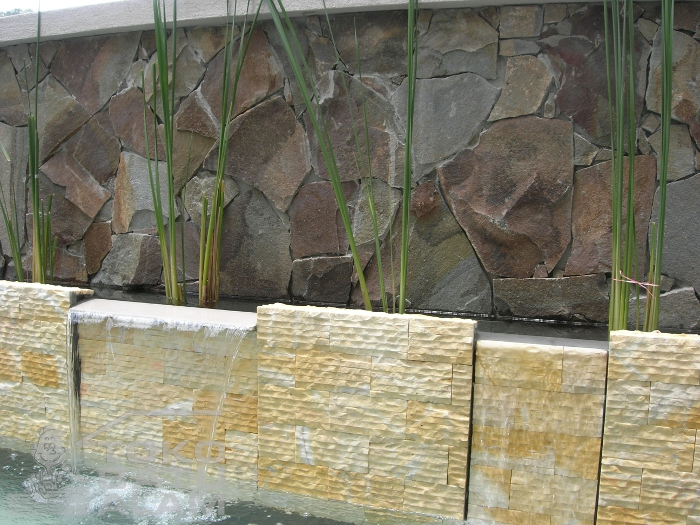 Contoh Pemasangan Batu Templek Purwakarta