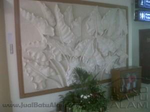 contoh pemasangan relief batu alam