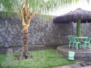 contoh pemasangan templek salagedang untuk dinding